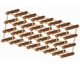 Wooden modular wine rack plans