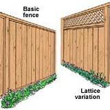 Free Basic Fence Plan