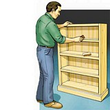Free Pine Bookcase Plan