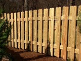 Free Privacy Panel Fence Plan