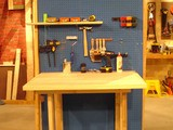 Free Folding Workbench Plan